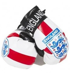 England FA Boxing Gloves Dangle
