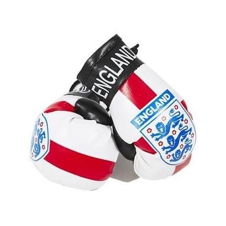 England FA Boxing Gloves Dangle