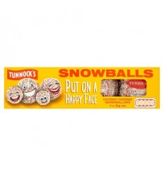 Tunnocks Snowballs - 4 Pack