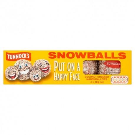 Tunnocks Snowballs - 4 Pack