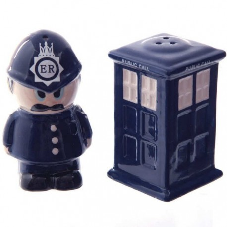 London Policeman & Call Box Salt & Pepper Shakers