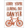 Oan Yer Bike Greeting Card