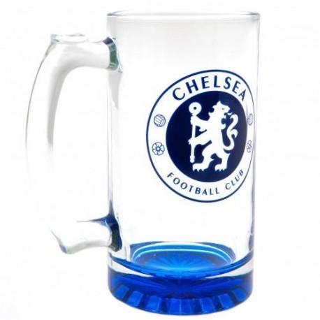Chelsea FC Stein Glass Tankard