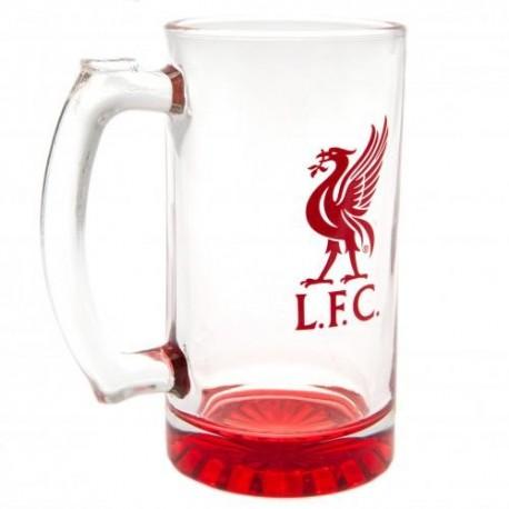 Liverpool FC Stein Glass Tankard
