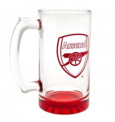 Arsenal FC Stein Glass Tankard