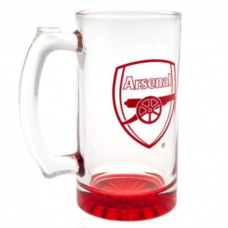 Arsenal FC Stein Glass Tankard