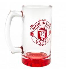 Manchester United FC Stein Glass Tankard
