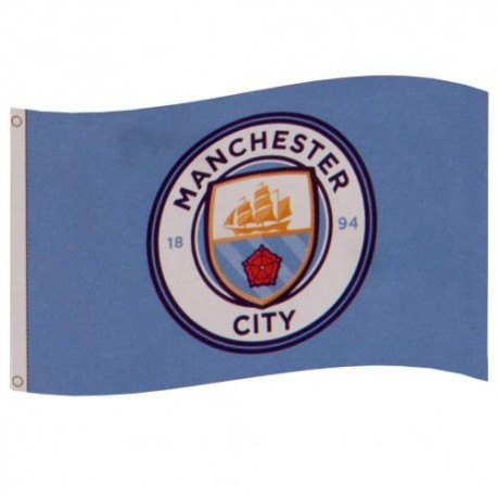 Manchester City FC Team Flag
