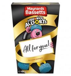 Maynards Bassetts Liquorice Allsorts Carton