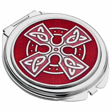 Sea Gems Celtic Cross Compact Mirror