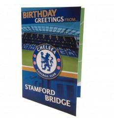 Chelsea FC Stamford Bridge Popup Birthday Card
