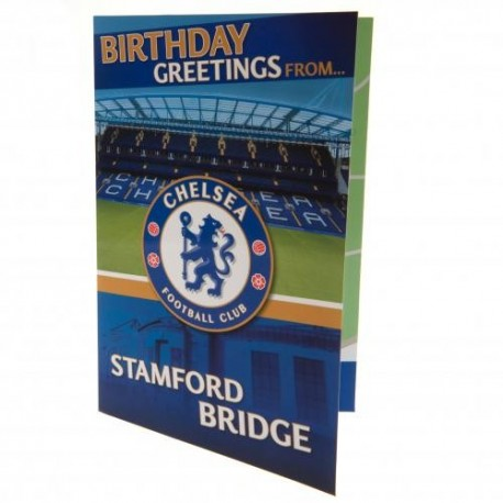 Chelsea FC Stamford Bridge Popup Birthday Card