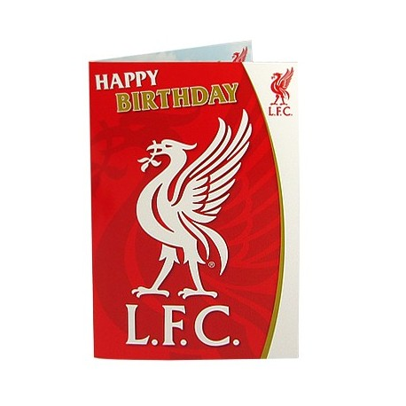 LIverpool FC Musical Birthday Card