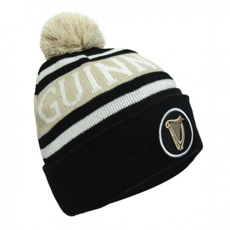GUINNESS Pom Knit Ski Hat
