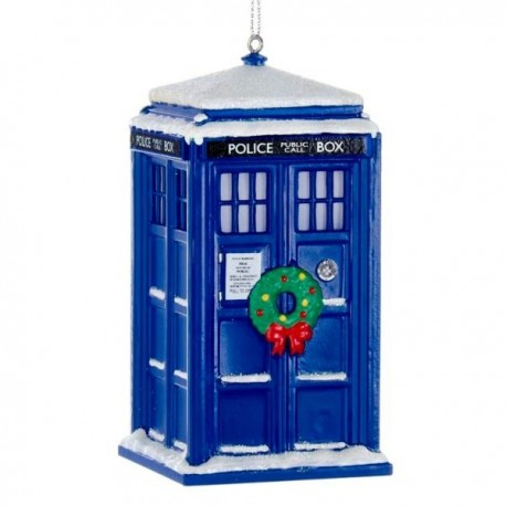 Doctor Who Tardis Christmas Ornament - A Bit of Home (Canada)