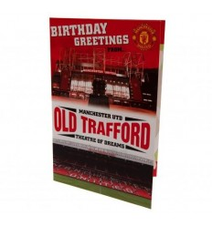 Manchester United FC Old Trafford Popup Birthday Card
