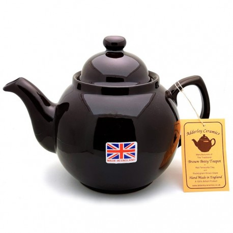 Adderley Brown Betty Teapot