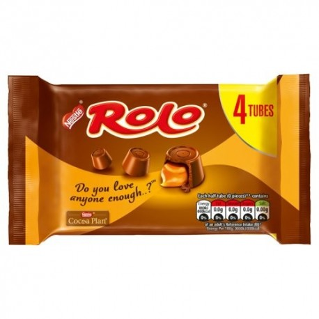 Nestle Rolo 4 Tube Multipack