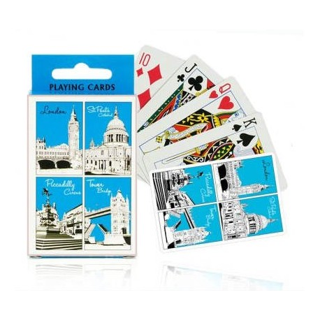 London Icons Playing Cards