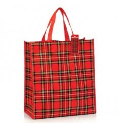 Royal Stewart Tartan Shopping Bag