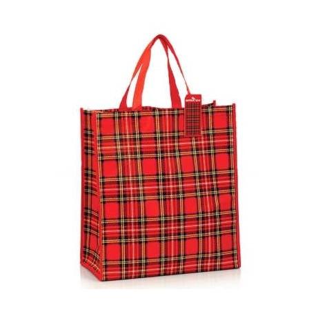 Royal Stewart Tartan Shopping Bag
