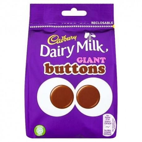 Cadbury Dairy Milk Giant Buttons - 119g