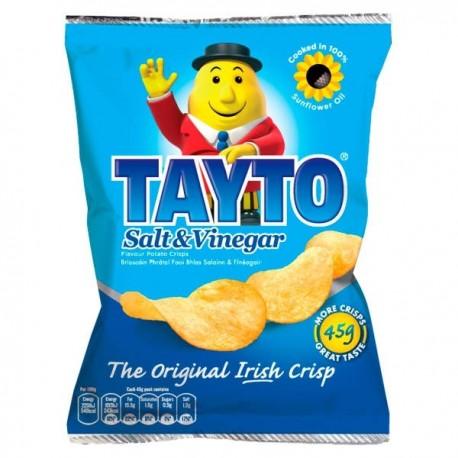 Tayto Salt & Vinegar Crisps - 37g