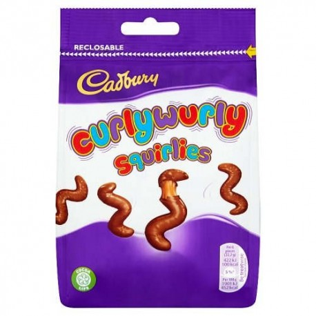 Cadbury Curly Wurly Squirlies - 95g