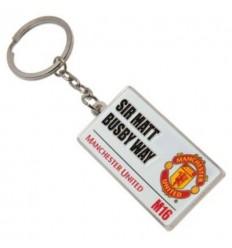 Manchester United FC Street Sign Keyring