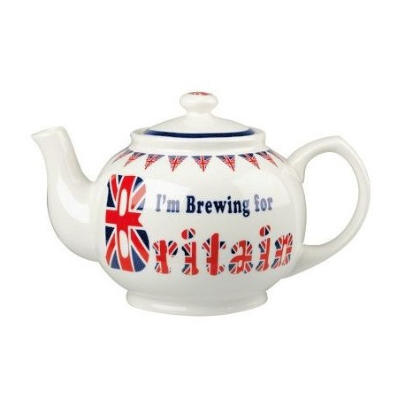 Brewing for Britain Teapot