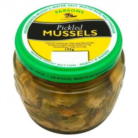 Parsons Pickled Mussels - 155g