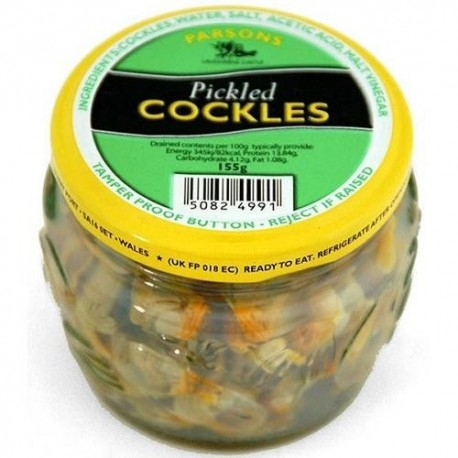 Parsons Pickled Cockles - 155g