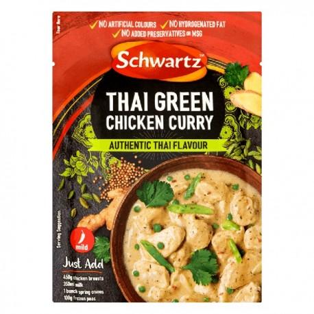 Schwartz Thai Green Chicken Curry 41g