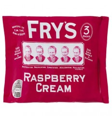 Fry's Raspberry Cream 3 Pack