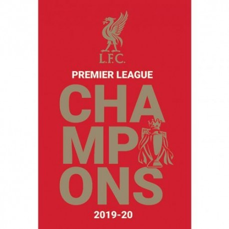 Liverpool FC 2019-20 Champions Poster