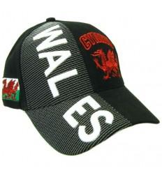 Wales 3D Baseball Cap