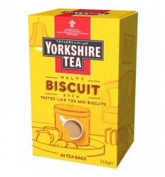 Yorkshire Biscuit Blend Tea Bags - 40