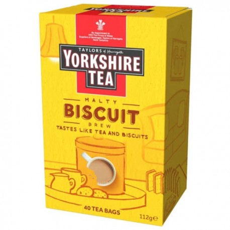 Yorkshire Biscuit Blend Tea Bags - 40