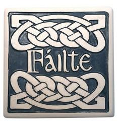 Porcelain Trivet - Failte