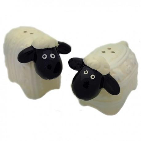 Wooly Sheep Salt & Pepper Shakers