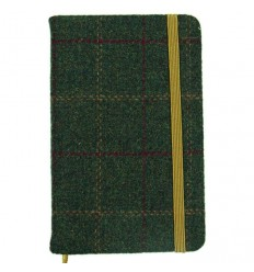 Heritage Traditions Pocket Notebook - Green Tweed