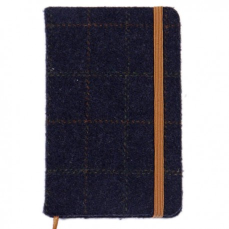 Heritage Traditions Pocket Notebook - Blue Tweed