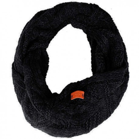 Aran Traditions Cable Knit Snood - Black
