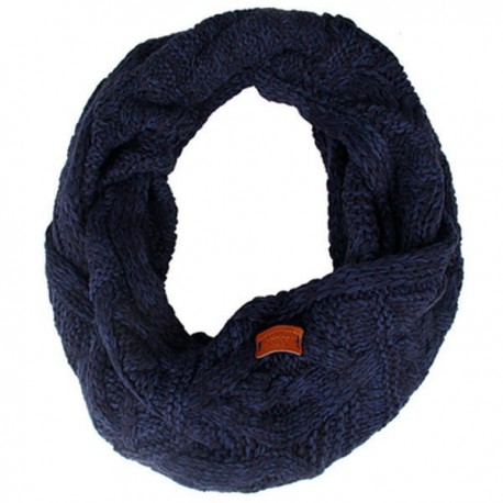 Aran Traditions Cable Knit Snood - Navy