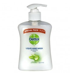Dettol Liquid Hand Wash - Aloe Vera - 250ml