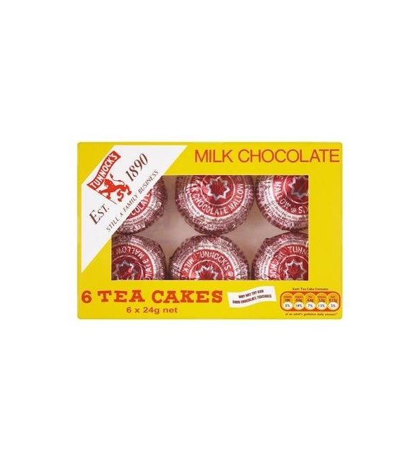 Tunnocks Milk Chocolate Tea Cakes 6 Pack A Bit Of Home Canada