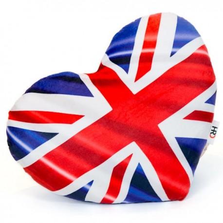 Union Jack Heart Cushion