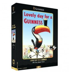 GUINNESS Lovely Day Toucan Jigsaw Puzzle