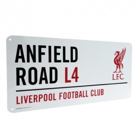 Liverpool FC Street Sign