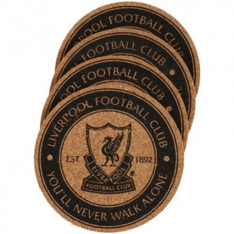 Liverpool FC Cork Coasters